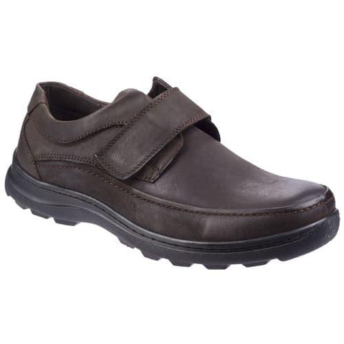 Fleet & Foster Hurghada Slip On Mens Shoes Brown